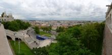 Budapest: Blick von der Fischerbastei
