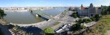 Budapest: Blick auf Donau und Gellert-Hotel