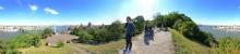 Budapest: Rundblick am Gellert-Berg