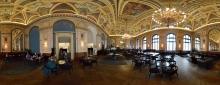 Budapest: Lotz Cafe in der Buchhandlung Alexandra