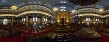 Budapest: Orthodoxe Synagoge, Innenraum