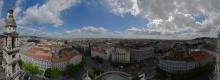Budapest: Rundblick von der St. Stephans-Basilika