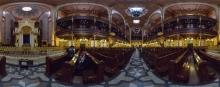 Budapest: Große Synagoge, Innenraum