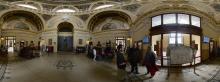 Budapest: Szecheny-Thermalbad, Eingangshalle