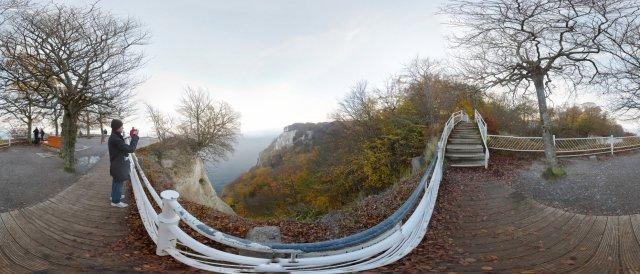 Nationalpark Jasmund, Königsstuhl mit Kreidefelsen