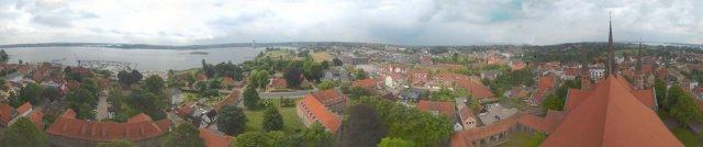 Rundblick Schleswig vom Dom
