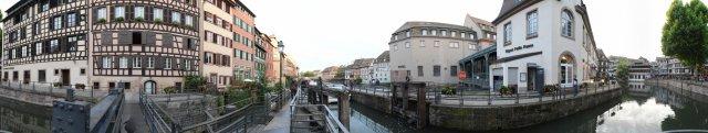 Straßburg: Schleusen am La Petite France