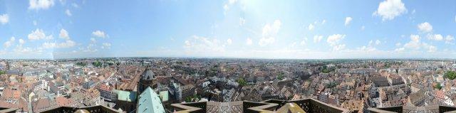 Straßburg: Panorama vom Münsterturm