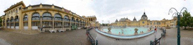 Budapest: Szecheny-Thermalbad