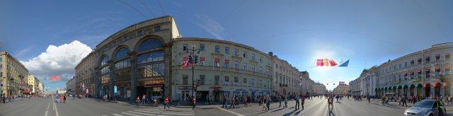 St. Petersburg - Auf dem Newski Prospekt