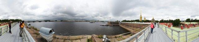 St. Petersburg - Auf den Befestigungsanalgen der Peter-und-Paul-Festung