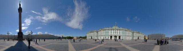 St. Petersburg - Schlossplatz vor der Eremitage