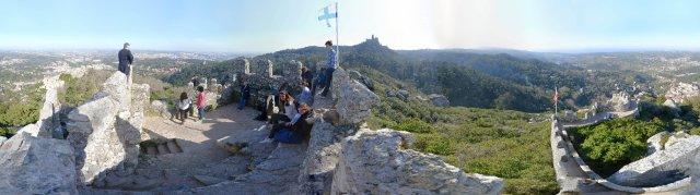 Sintra bei Lissabon: Castello dos Mouros
