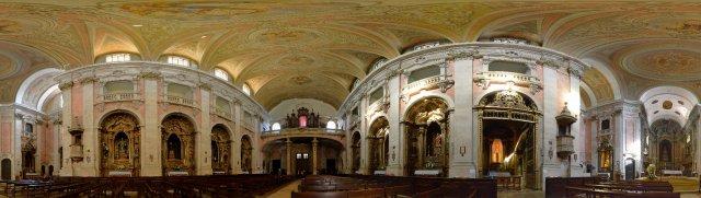 Lissabon: Kirchenschiff der Igreja da Graca
