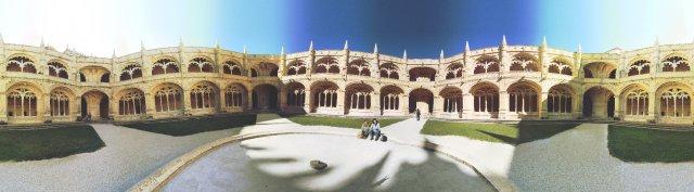 Lissabon: Hieronymuskloster Kreuzgang