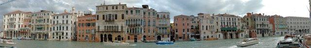 Venedig: Fassaden am Canal Grande