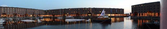 Abendstimmung an den Docks