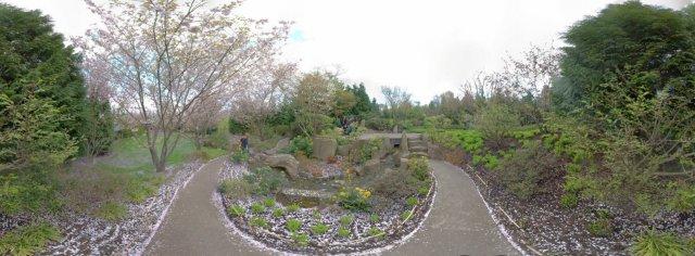 Japanischer Garten - Wasserlauf