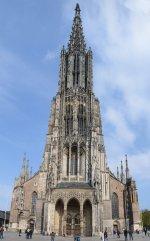 Ulmer Münster - Hauptfassade