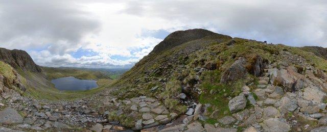 Lake-District: Aufstieg zum Harrison Stickle