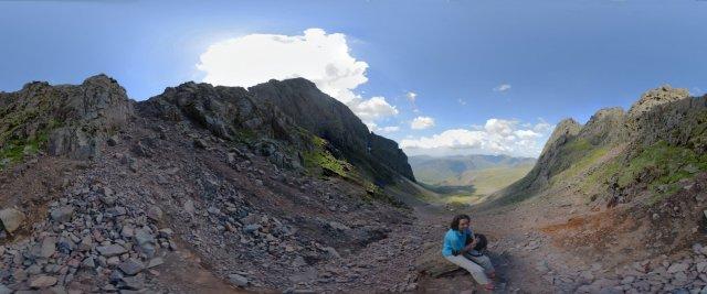 Lake-District: Der steile Aufstieg zum Scafell Pike