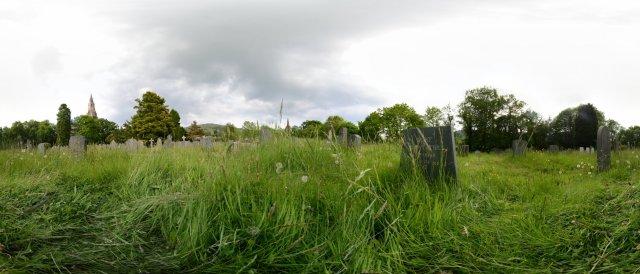 Ehemaliges Grab von Kurt Schwitters in Ambleside, Lake District