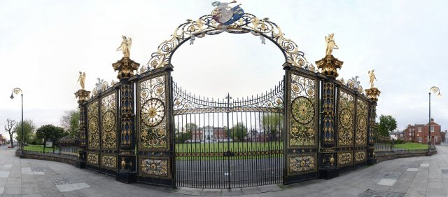Das Golden Gate in Warrington