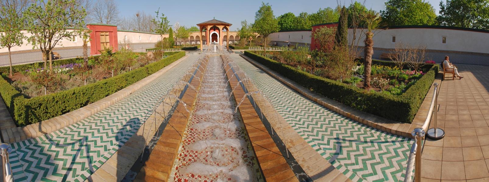 Orientalischer Garten - Gärten der Welt