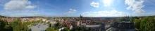 Rundblick Quedlinburg vom Sternkiekerturm