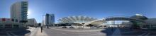Lissabon: Einkaufszentrum und Bahnhof auf dem ehemaligen Expo-Gelände