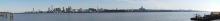 Blick auf Liverpool über den Mersey River. Foto: Karen Seel