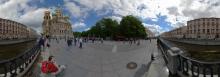 St. Petersburg - Vor der Erlöserkirche