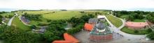 Rundblick vom Leuchtturm Kap Arkona, Rügen