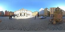 Akademie-Gebäude in der Stockholmer Altstadt