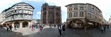 Straßburg: Eingangsfassade des Münsters