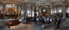 Straßburg: Thomaskirche Kirchenschiff