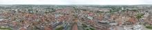 Rundblick vom Turm des Ulmer Münsters