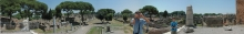 Ostia Antica - Ausgrabungsstätte der antiken Stadt