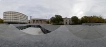 Beinecke Plaza mit Bibliothek - Yale - New Heaven - Connecticut