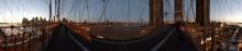 On the Booklyn Bridge - New York