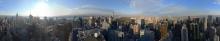 Panorama vom Rockefeller Center - New York