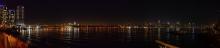 Manhattan Skyline bei Nacht - New York