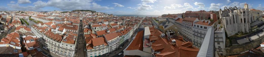Rundblick Lissabon