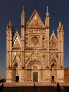 Fassade von Santa Maria, Orvieto