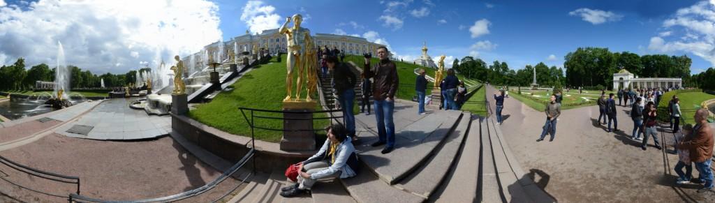Große Kaskade Schloss Peterhof